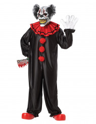 Costume Clown pauroso adulto