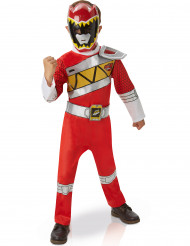 Costume deluxe Power ranger rosso Dino Charge™ per bambino