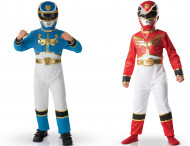 Cofanetto 2 costumi Power rangers™ bambino