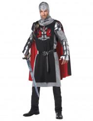 Costume da crociato medievale per uomo