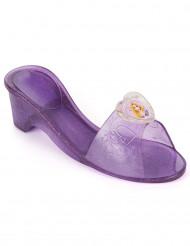 Scarpette Rapunzel™ plastica viola trasparente bambina