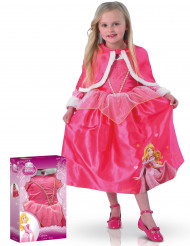 Costume deluxe Aurora Winter in Wonderland™ bambina con cofanetto