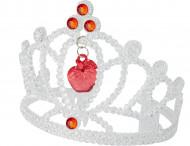 Corona lusso con paillettes Biancaneve™ bambina