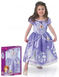 Costume principessa Sofia™ per bambina con cofanetto