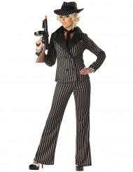 Costume Gangster per donna