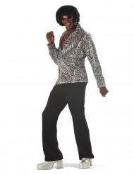 Costume disco zebrato per uomo