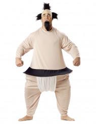Costume da lottatore di Sumo per adulto