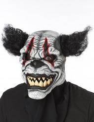Maschera Clown pauroso adulto