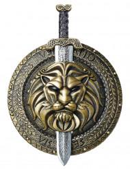 Scudo e spada da guerriero romano