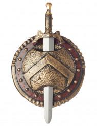 Spada e scudo da spartano