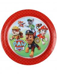 8 piatti cartone Paw Patrol™ 23 cm