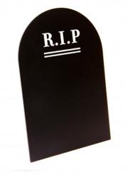 Decorazione di Halloween: menu lapide gotica