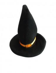 Decorazioni per Halloween: 2 mini cappelli da strega arancio