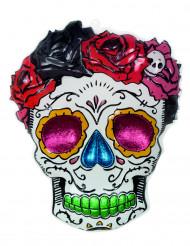 Decorazione murale di Halloween: la Signora Scheletro - Dia de los muertos