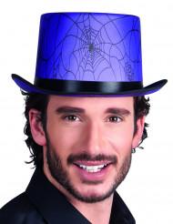 Cappello a cilindro viola per adulti Halloween