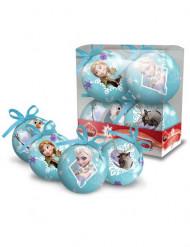 4 palle Natale 7,5 cm Frozen- Il regno di ghiaccio™