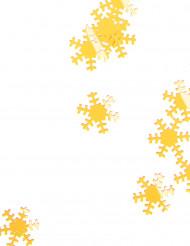 Fiocchi neve Natale dorati 45 g