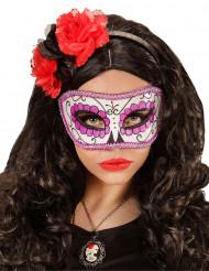 Maschera colorata Dia de los Muertos