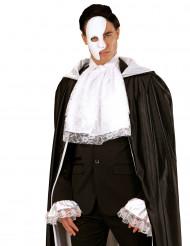 Jabot e maniche in merletto bianco adulto