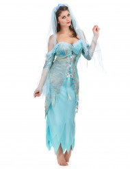 Costume Sirena turchese donna