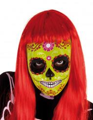 Maschera di Halloween - Dia de los Muertos per bambina