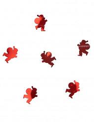 Coriandoli da tavolo Babbo Natale rossi 10 grammi