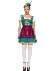 Costume cameriera bavarese deluxe donna
