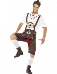 Costume bavarese umoristico uomo