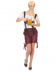 Costume tirolese short per donna