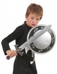 Kit Costume e Accessori cavaliere per bambino