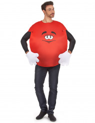 Costume Caramella rossa per adulto