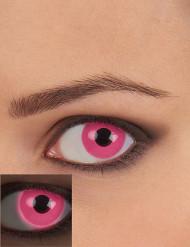 Lenti a contatto UV Rosa per adulto