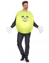 Costume Caramella gialla per adulto
