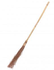 Scopa da strega in bamboo - 88 cm