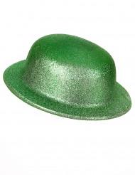 Cappello verde a paillettes adulto San Patrizio