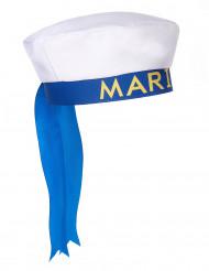 Cappello marinaio con scritta per adulto