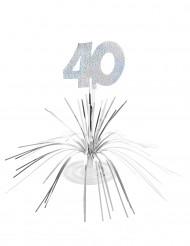 Centro tavolo per compleanno di 40 anni