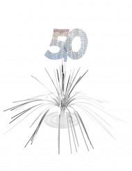Centro tavolo per compleanno di 50 anni