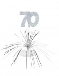 Centro tavolo per compleanno di 70 anni