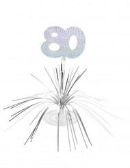 Centro tavola 80 anni