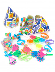 Kit per la festa multicolore per bambini