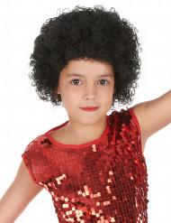 Parrucca afro/clown bambino nera