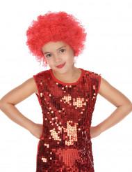 Parrucca clown rossa