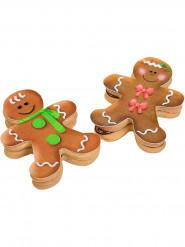 9 decorazioni di zucchero per biscotti Natale