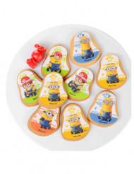 10 Decorazioni di zucchero per biscotti Minions™