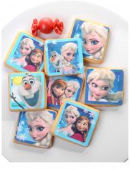 12 Decorazioni di zucchero per biscotti Frozen - Il regno di ghiaccio™