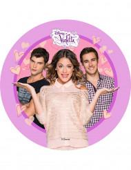 Disco decorativo per torte Violetta™