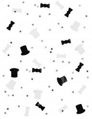 Coriandoli bianchi e neri Capodanno