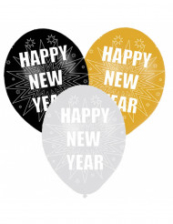 6 Palloncini gonfiabili Happy New Year