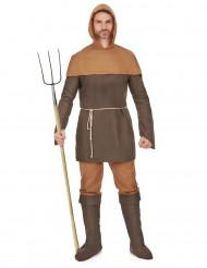 Travestimento paesano medievale uomo